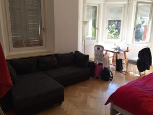 Ruime en lichte familie kamer