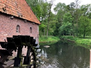 Watermolen in de buurt van Winterswijk